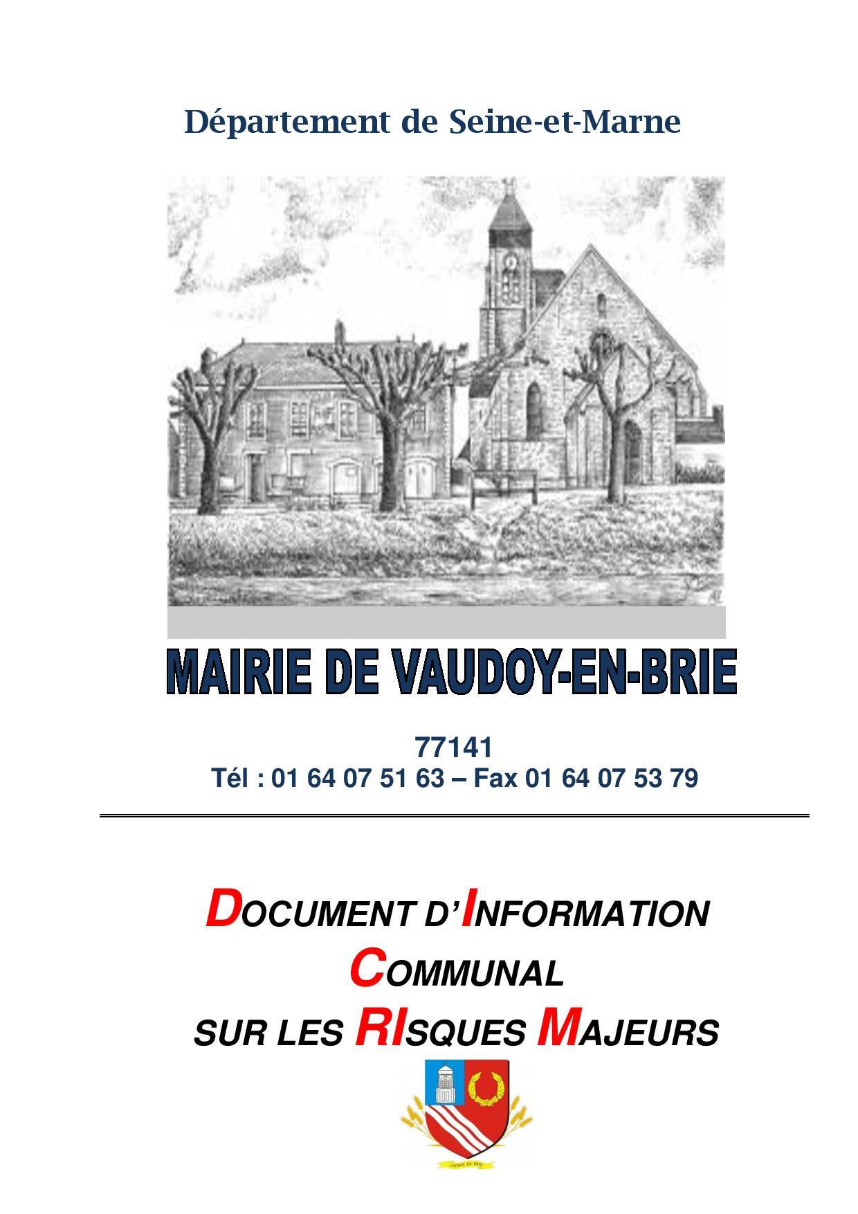 Mairie de Vaudoy-en-Brie